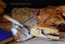 Torta ricotta e marmellata ai frutti di bosco