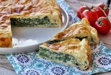 Torta spinaci e ricotta veloce