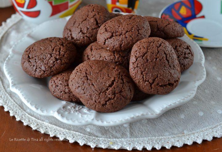 cookies cuore di cioccolato