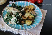 Tacchino in teglia con parmigiano e spinacini