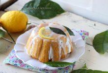 Zuccotto al limone con glassa