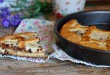 Crostata senza burro con ricotta e cioccolato