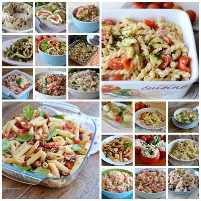 Primi piatti freddi estivi tante idee veloci 20 ricette for Primi piatti freddi