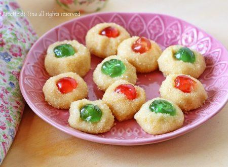 Biscotti alle mandorle senza cottura