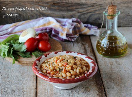 Zuppa fagioli cannellini piccante