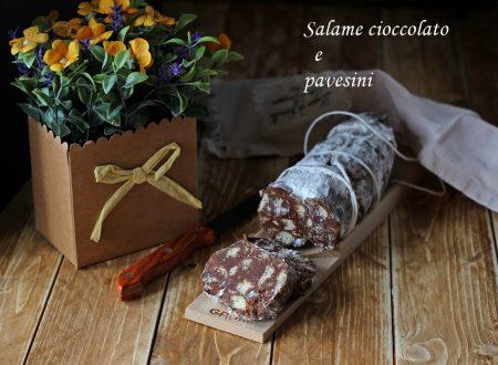 Salame cioccolato e pavesini