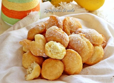 Sgonfiotti di mele dolci