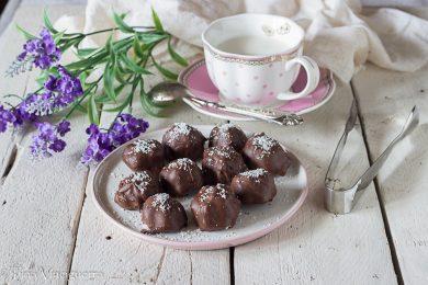 Palline cocco e cioccolato