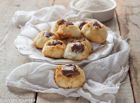Nutellotti al cocco biscotti veloci