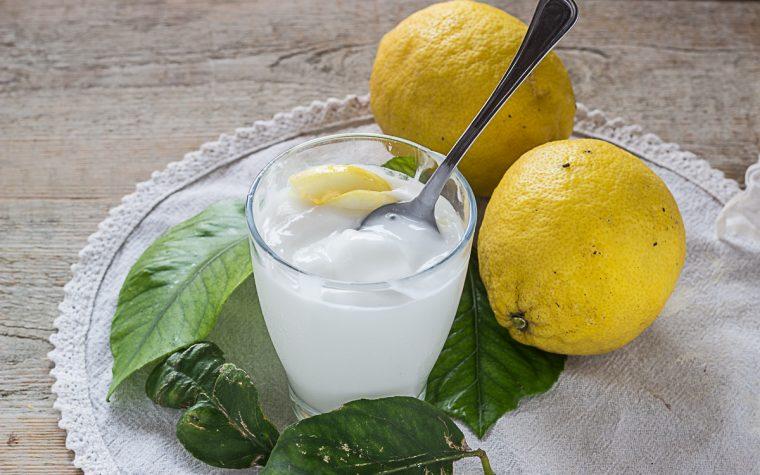 Sorbetto veloce al limone