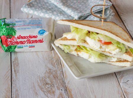 Sandwich croccante farcito