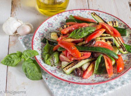 Insalata di zucchine alla puttanesca
