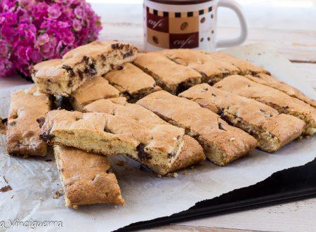 Biscotti barrette al cioccolato