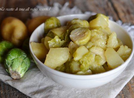 Zuppa patate e cavolini