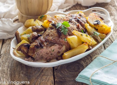 Polpettone patate e carne al forno