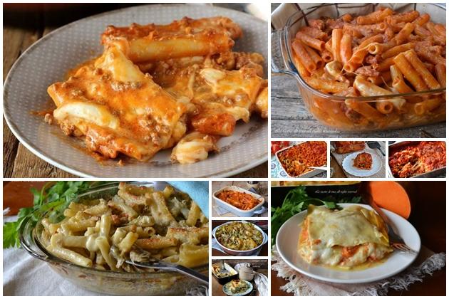 Primi piatti al forno 10 ricette facili e veloci da preparare anche in anticipo - Secondi piatti da cucinare in anticipo ...