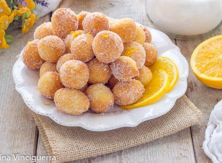 Palline zuccherate dolci