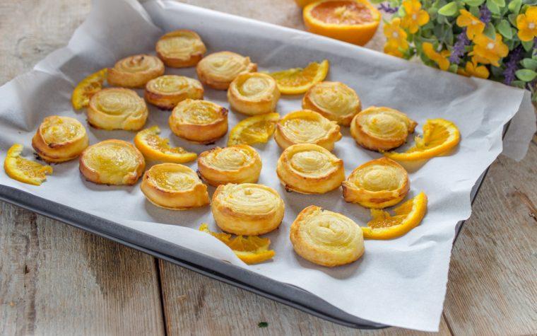 Girelle arancia dolci