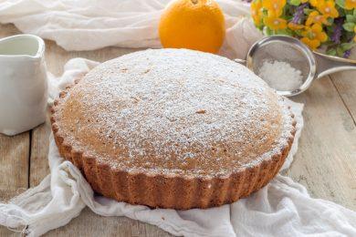 Torta arancia morbida