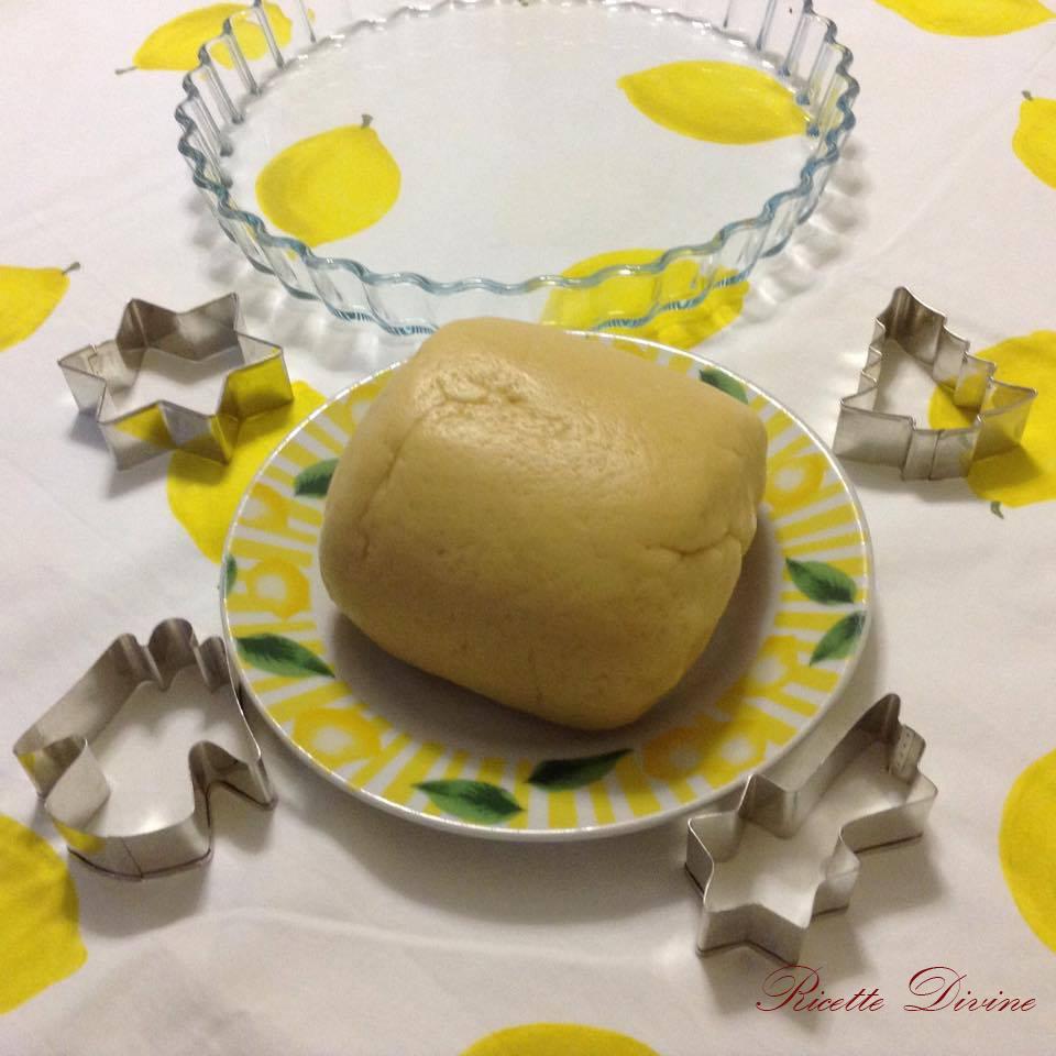 Pasta frolla con burro e senza burro