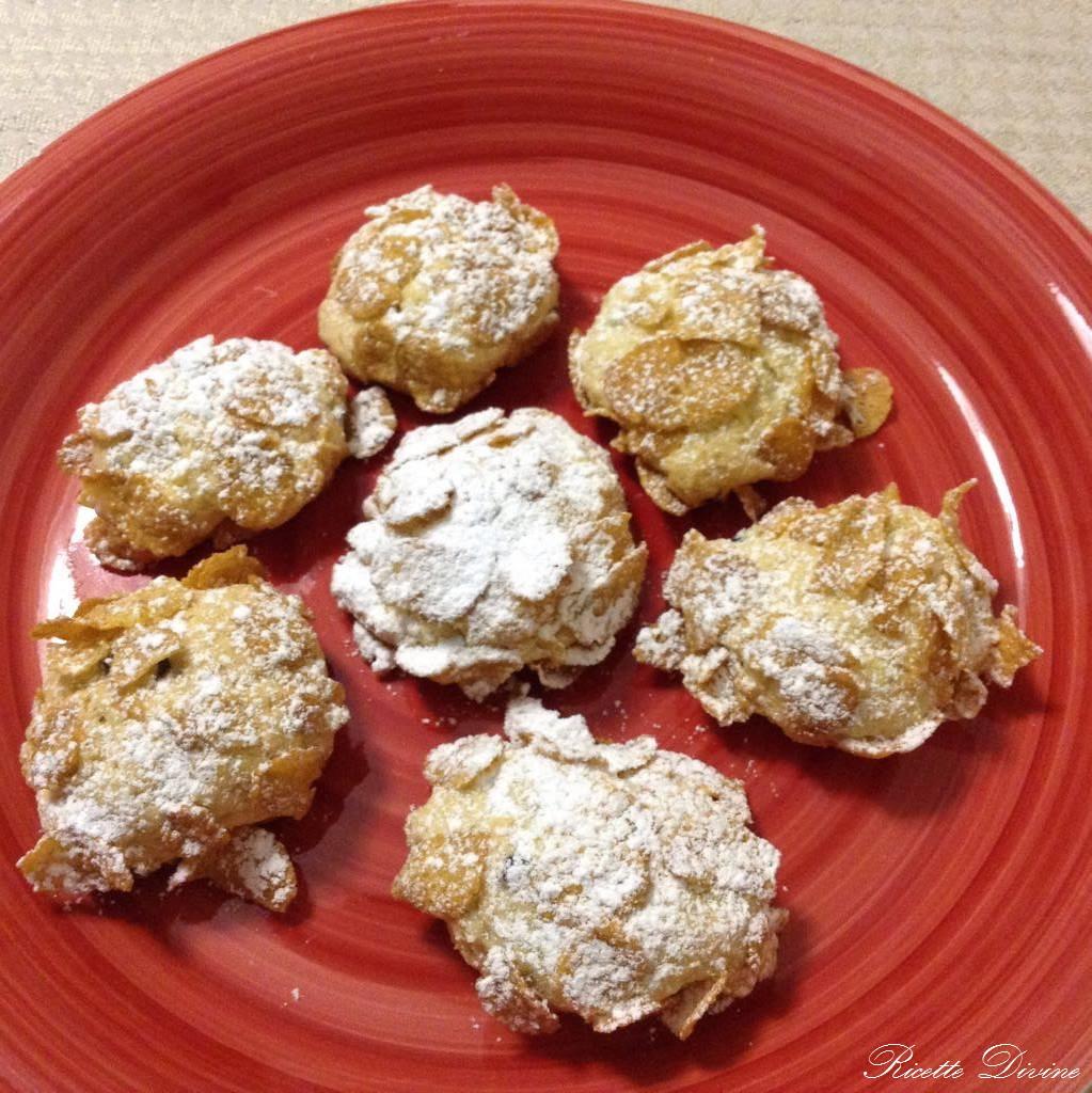 Rose del deserto (corn flakes cookies) #rosedeldeserto #biscotti