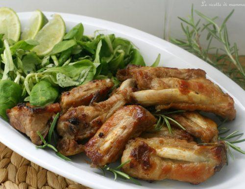 COSTINE DI MAIALE IN PADELLA (ricetta secondo carne)