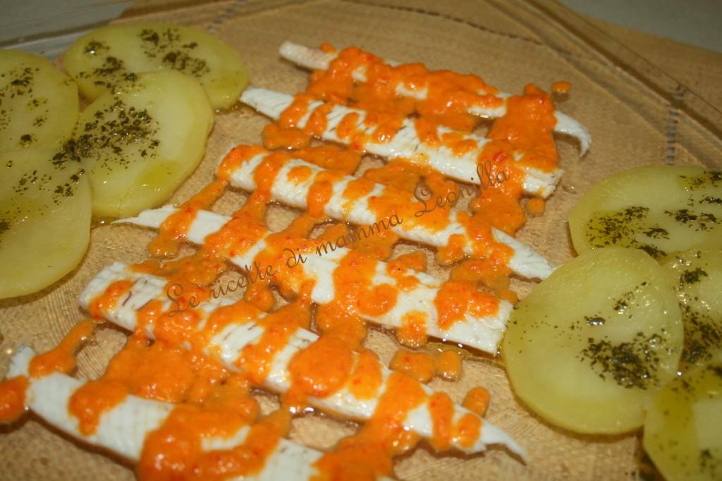 sogliola con salsa di peperoni(ricetta antipasto/secondo di pesce)
