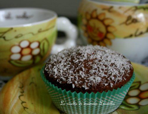 MUFFIN YOGURT E COCCO facili e veloci (ricetta dolce da forno)