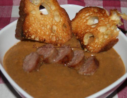 CREMA DI LENTICCHIE senza ammollo (ricetta zuppa)
