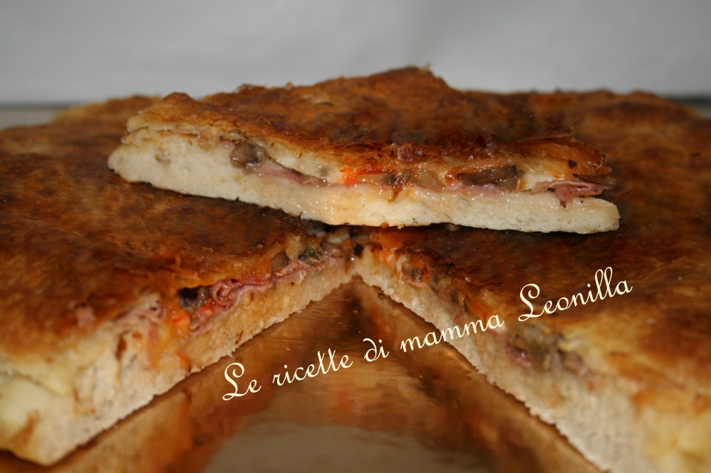 pizza parigina tartufata(ricetta salati)