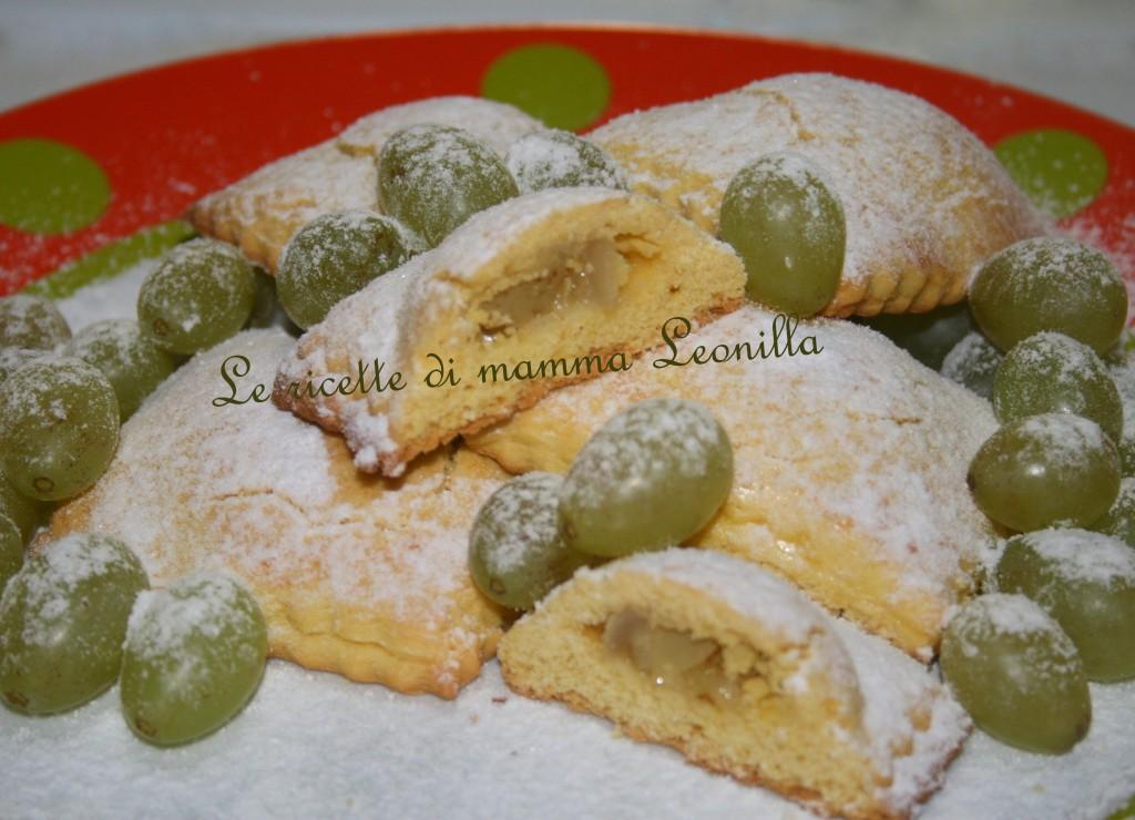 FROLLINI ALL'UVA UBRIACA(ricetta dolce da forno)