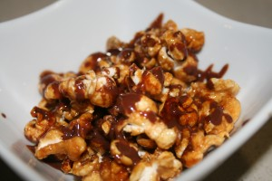 pop corn caramellati al cacao(ricetta dolce)