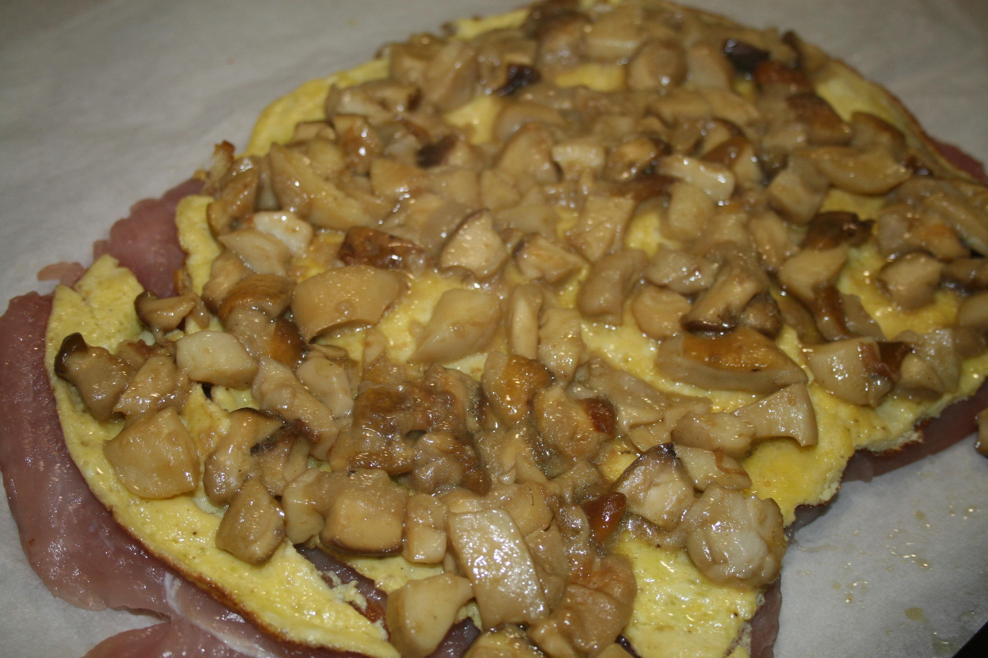 rolle' di tacchino farcito con frittata e porcini(ricetta di carne) - Come Cucinare Il Rollè Di Tacchino