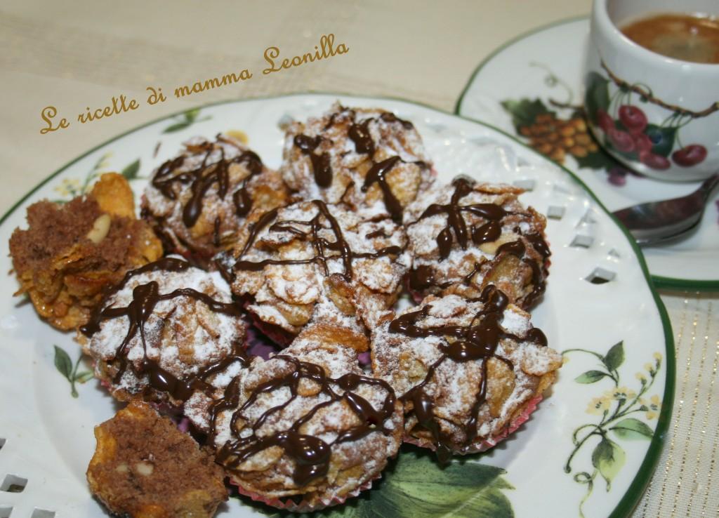 ROSE DEL DESERTO AL CIOCCOLATO E PINOLI(ricetta dolce da forno)