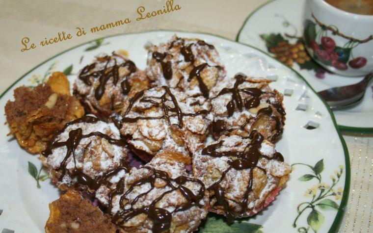 ROSE DEL DESERTO AL CIOCCOLATO E PINOLI (ricetta dolce da forno)