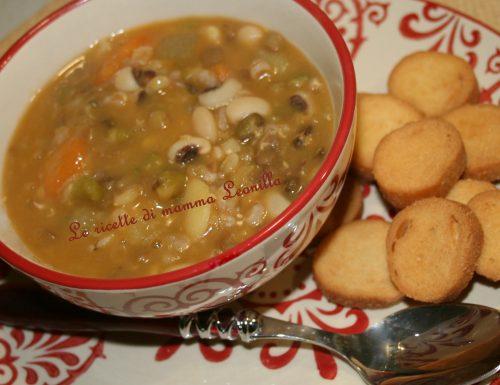 ZUPPA DI CEREALI E LEGUMI (ricetta zuppe)