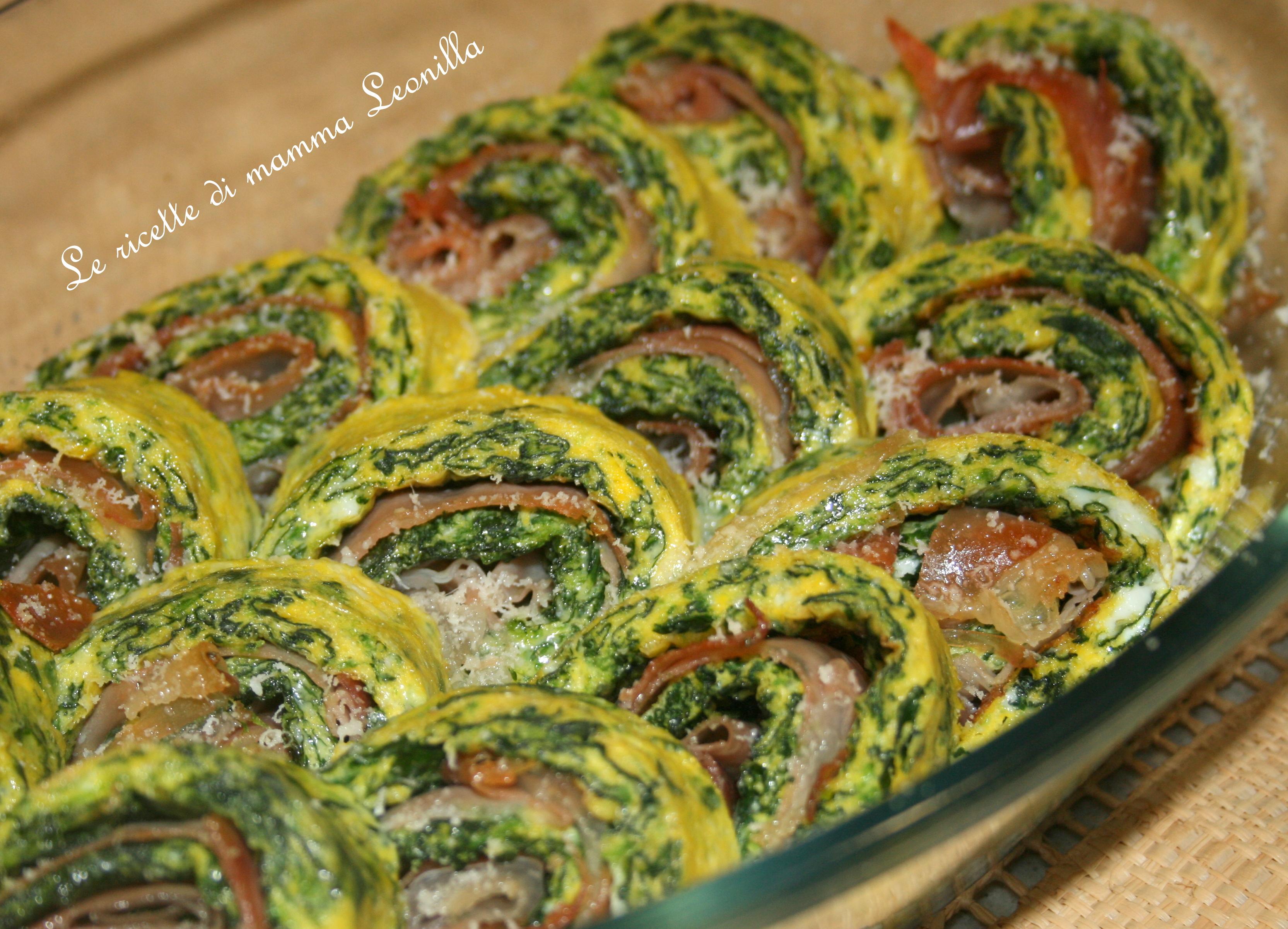 Ricetta frittata con spinaci bimby