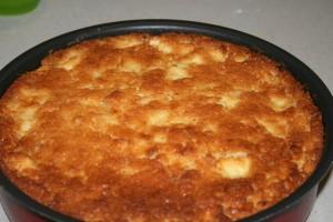 TORTA DI MELE SCIROPPATE -ricetta dolce da forno
