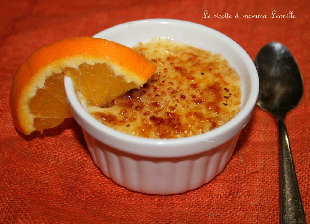 CREMA CATALANA - ricetta dolce al cucchiaio