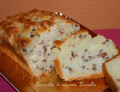 PLUMCAKE SALATO FARCITO FACILE E VELOCE -ricetta torta salata