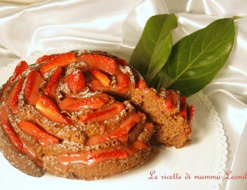 TORTA AL CIOCCOLATO YOGURT E CAFFE' -ricetta dolce da forno