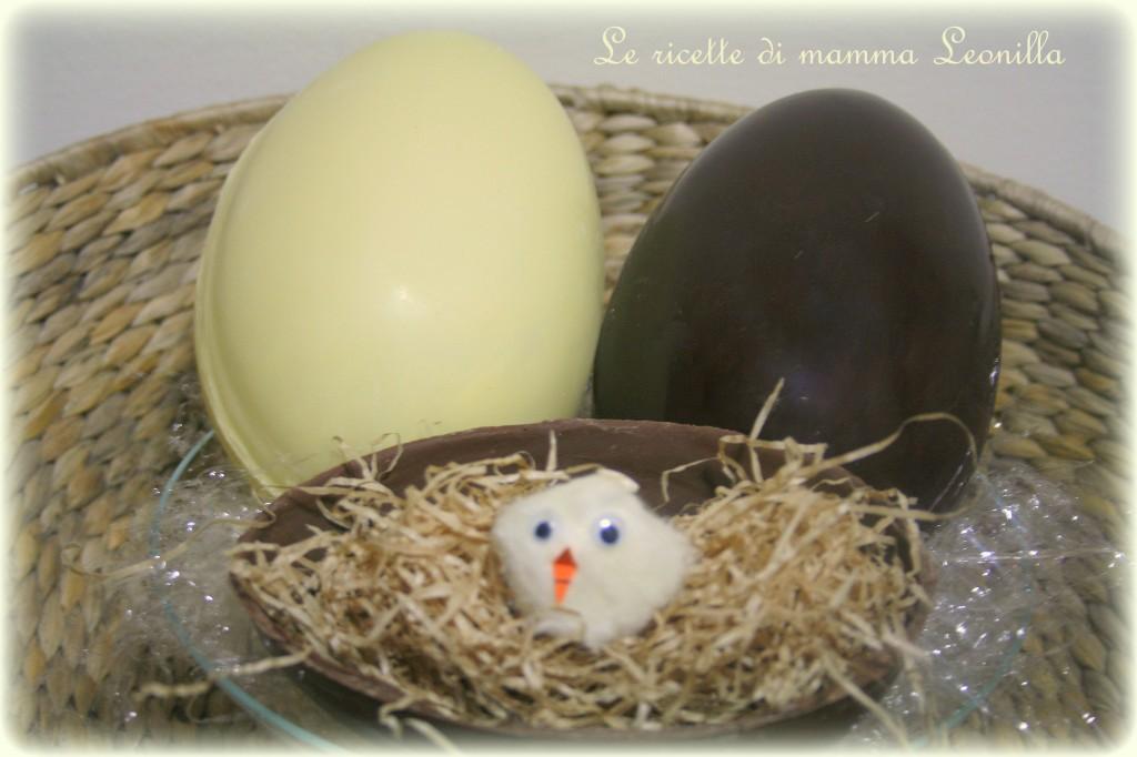 UOVO DI CIOCCOLATO FATTO IN CASA - ricetta base dolce di Pasqua