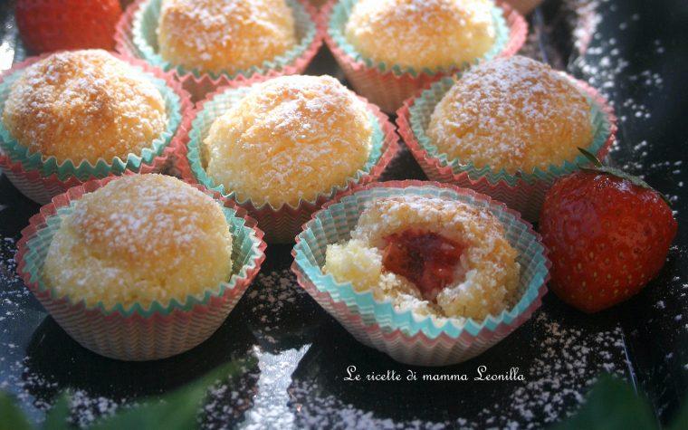 PALLINE AL COCCO E CUOR DI FRAGOLA – ricetta dolce da forno