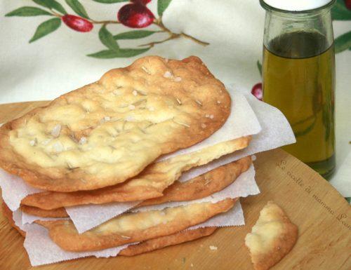 SCHIACCIATINE AL ROSMARINO -ricetta pizza con tutorial