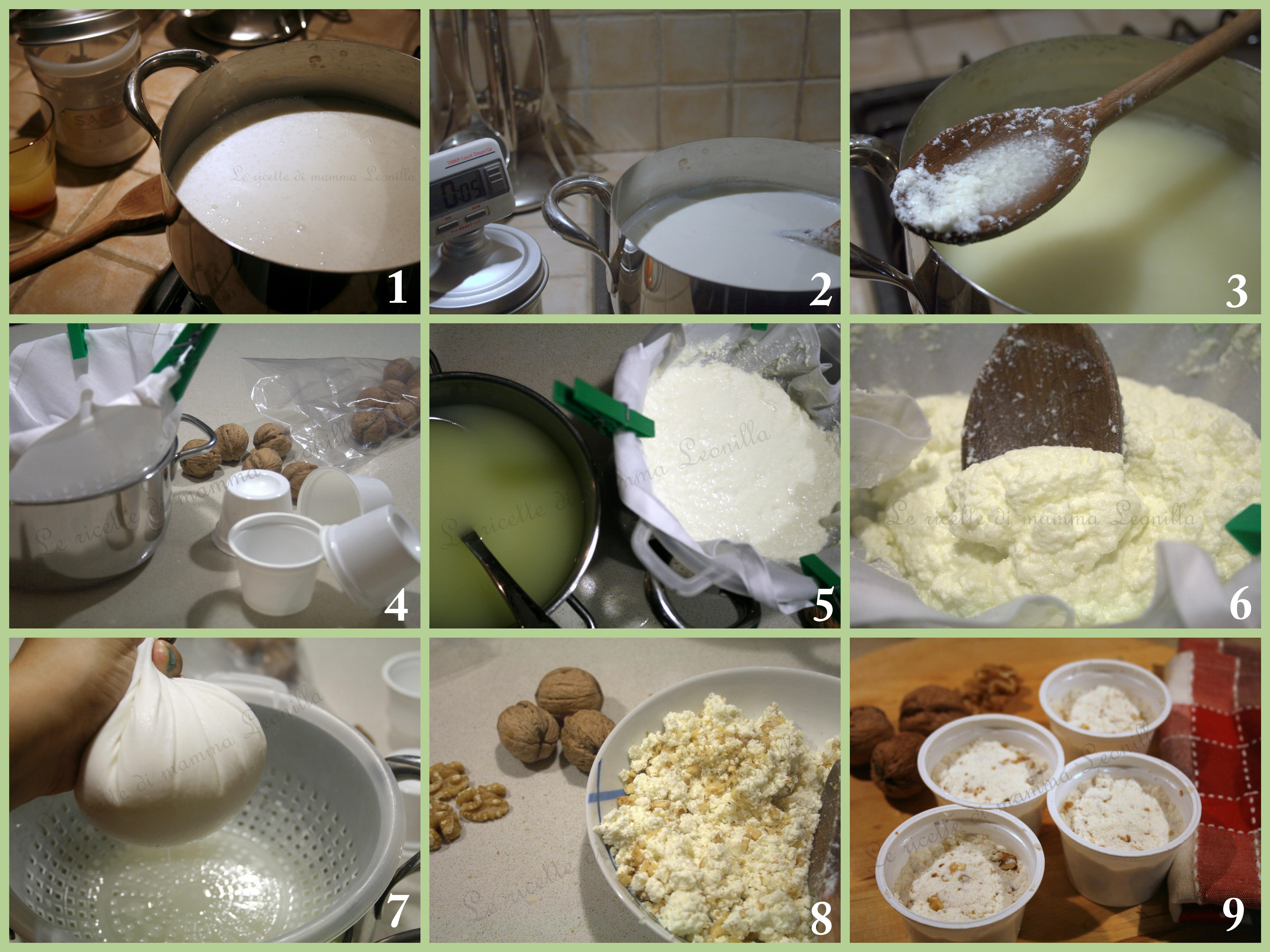 FORMAGGIO FRESCO FATTO IN CASA (TIPO CACIOTTA) -ricetta senza caglio