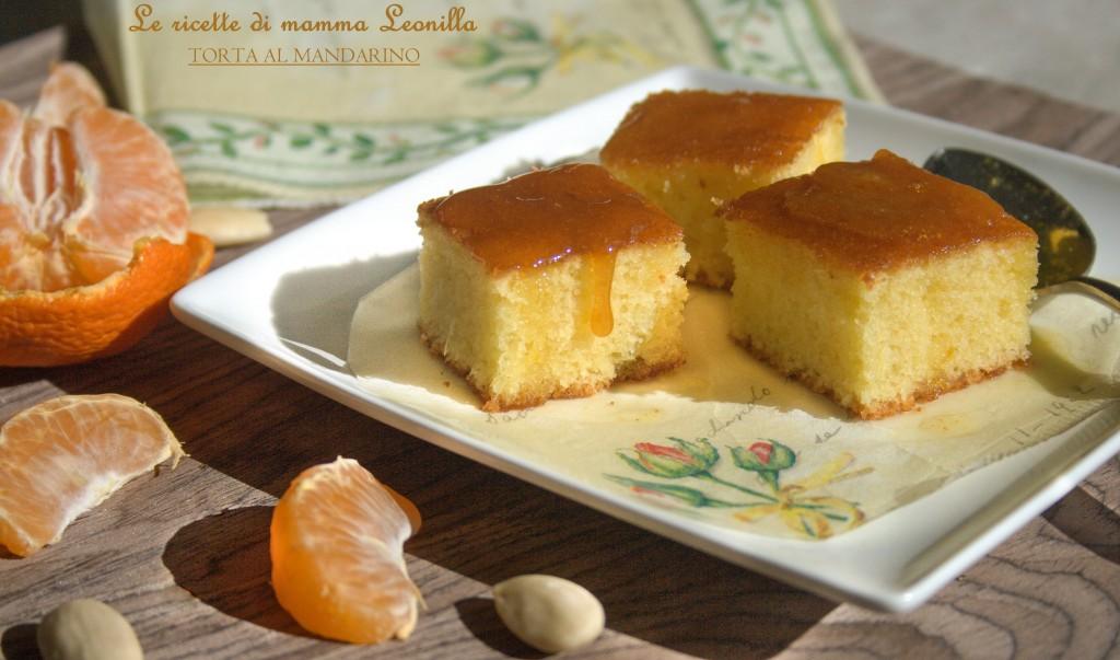 TORTA AL MANDARINO -ricetta dolce da forno