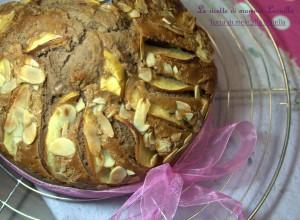 TORTA DI MELE ALLA NUTELLA -ricetta dolce da colazione