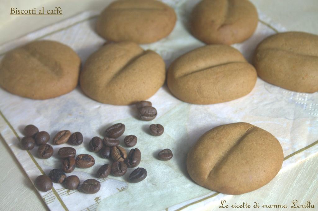 BISCOTTI AL CAFFE ricetta dolce da forno