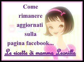 COME ESSERE AGGIORNATI SULLA FAN PAGE FACEBOOK – Le ricette di mamma Leonilla