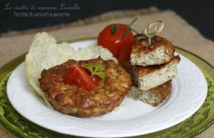 TORTINO DI CARCIOFI E PECORINO ricetta vegetariana